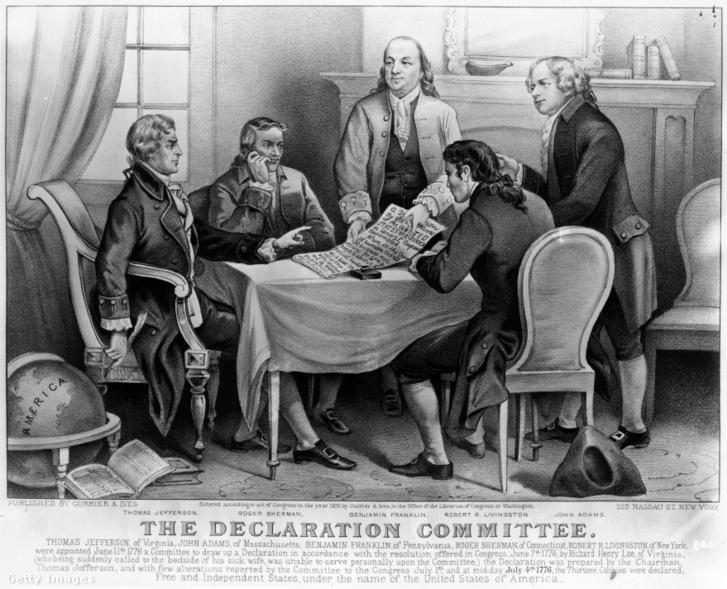 A függetlenségi nyilatkozatot készítő bizottság