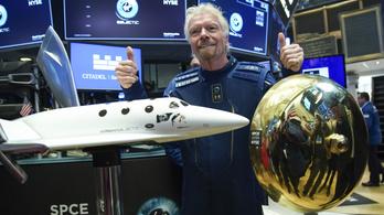 Tényleg az űrbe repül ma Richard Branson?