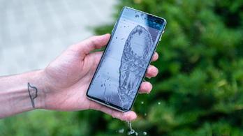 Most letesztelheti, vízálló-e a mobilja