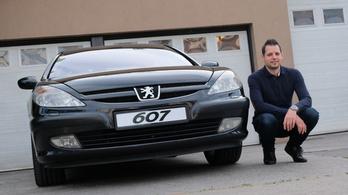 Erőmérő: Peugeot 607 3,0 V6 – 2003.