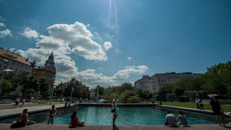 Budapesten 39 fokos trópus lesz az új normális