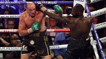 Elhalasztották Tyson Fury és Deontay Wilder csatáját