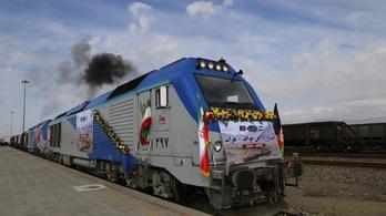 Káoszba taszították az iráni vasútközlekedést