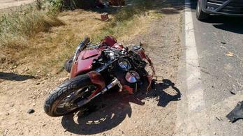 Halálos motorbaleset Győr-Moson-Sopron megyében