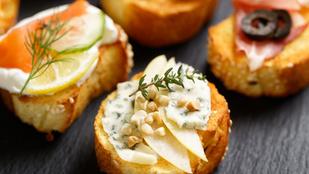 Almás-kéksajtos melegszendvics – ötperces különlegesség reggelire vagy vacsorára