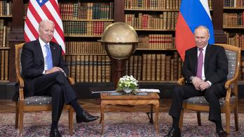 Biden felhívta Putyint, és rászólt az orosz kibertámadások miatt