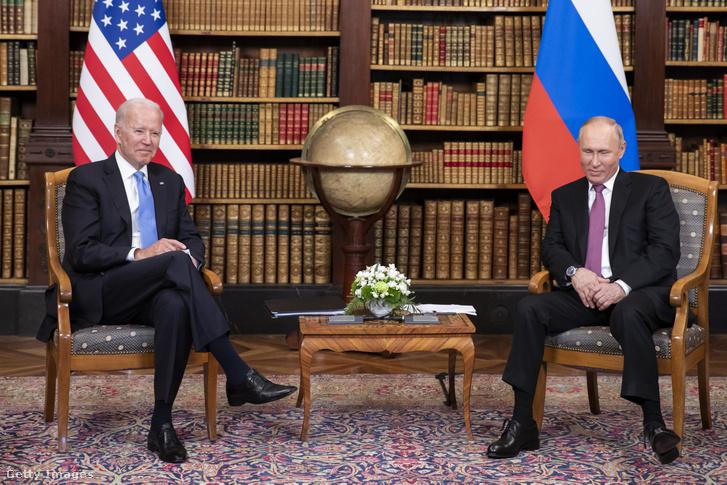 Joe Biden és Vlagyimir Putyin