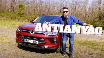 Lionel Messi antianyag-párja: a Ssangyong Korando