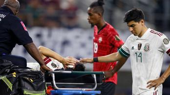 Horrorsérülése után rögtön kórházba szállították a mexikói futballistát