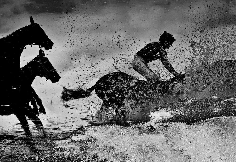 Sport, akció-sorozat, Első hely Cseh zsoké egy cross-country lóversenyen