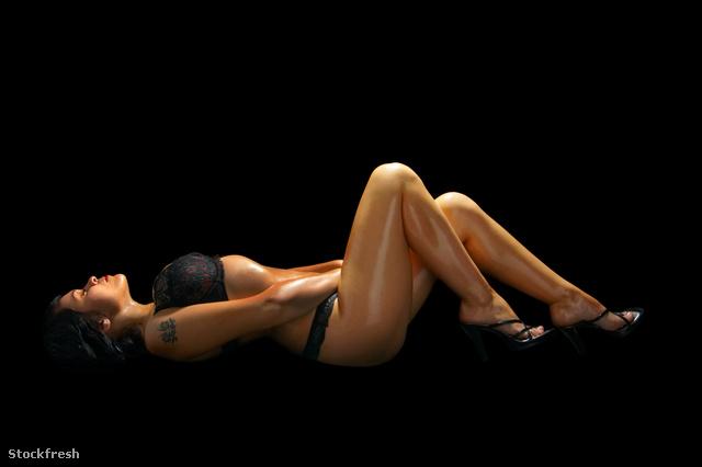 stockfresh 445967 girl-on-black sizeM