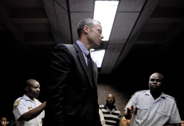 Pistorius a bíróságon