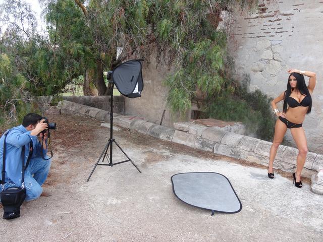 Voksán Virág mexikói fotózása