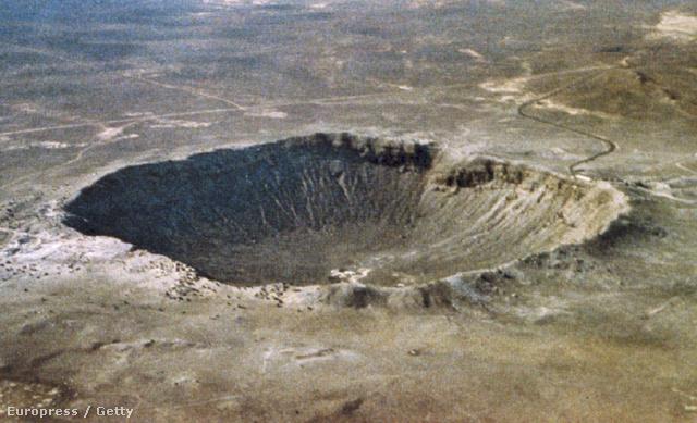 A legfiatalabb épen maradt becsapódási kráter a Földön 50ezer évvel ezelőttről