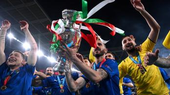 Olaszország legendává vált, az angolok tudták előre