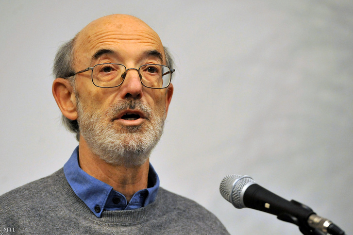 Kis János filozófus 2012. február 10-én