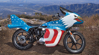 Harmincmilliót érhet Evel Knievel Harley-ja