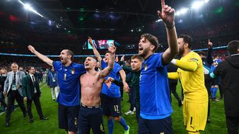 Az olaszok már a döntő előtt együtt zokogtak