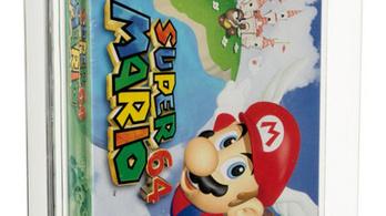 Több mint 400 millióért kelt el egy bontatlan Super Mario 64