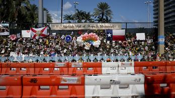 Már kilencvennégy halálos áldozatot azonosítottak az összeomlott floridai lakóháznál