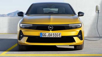 Megmutatták a teljesen új Opel Astrát