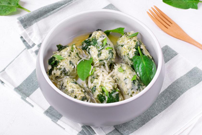 Így készül a gnudi, a gnocchi könnyed változata: krumpli helyett ricotta az alapja