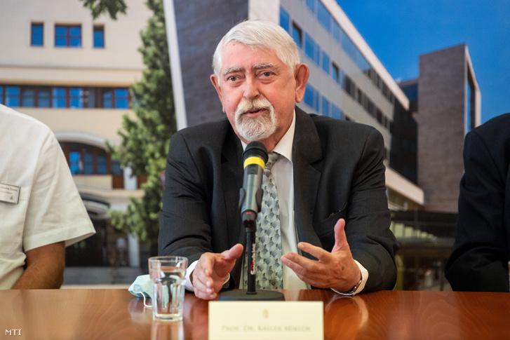 Kásler Miklós 2021. július 1-jén