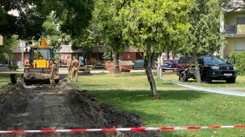 Bombát találtak Csepelen