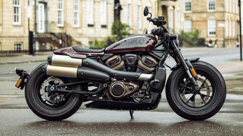 Íme, itt a Harley-Davidson Sportster S