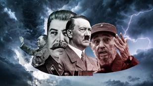 Diktátorok bizarr mániái: Castro, Hitler, Sztálin, Kim Dzsongil és Mao is kitett magáért