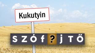 Szófejtő: hol van Kukutyin, és miért hegyeznek ott zabot?