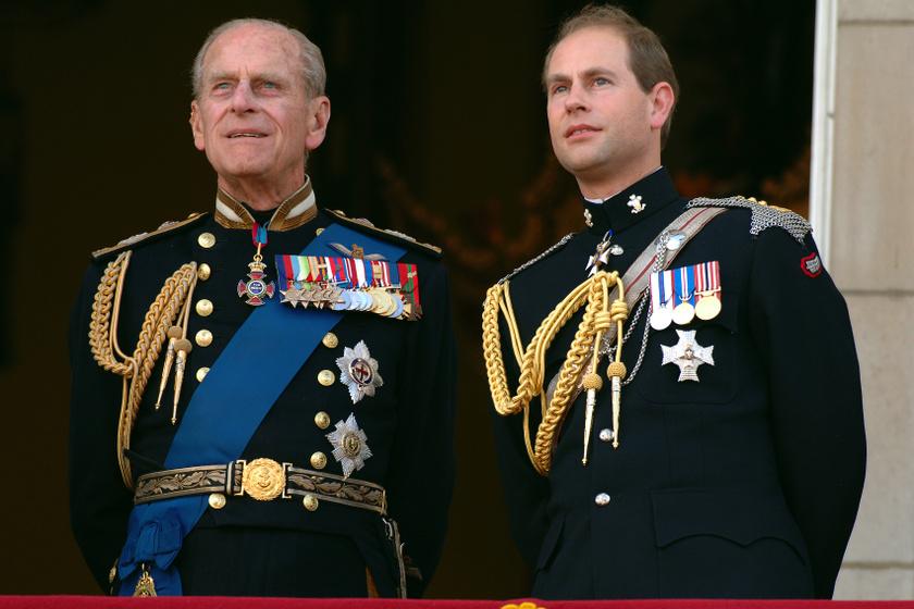 Fülöp azt szerette volna, ha halála után Edward wessexi grófból Edinburgh hercege lenne.