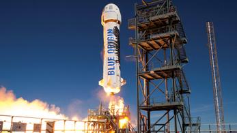 A Blue Origin rakétája megkapta az engedélyt, hogy utast vigyen az űrbe