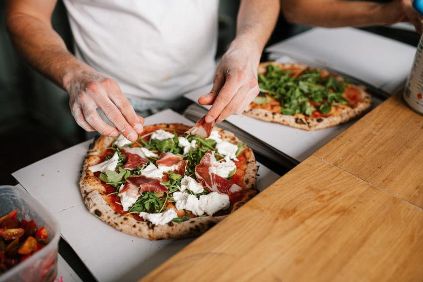 Digó Pizza belső