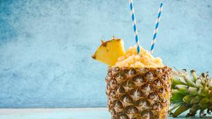 Gyömbér-bazsalikom-ananász szörbet – kánikulában, reggelire ez az egyik kedvencünk