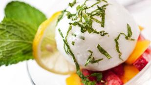 Citrom-bodza szörbet – a nyári melegben akár desszertek helyett is tökéletes