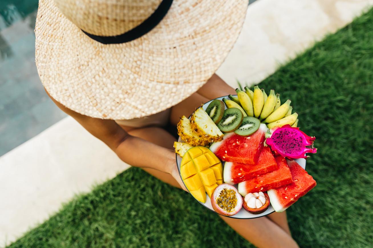 gyümölcsök nyár