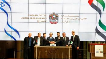 Megnyitották az emírségek tel-avivi nagykövetségét