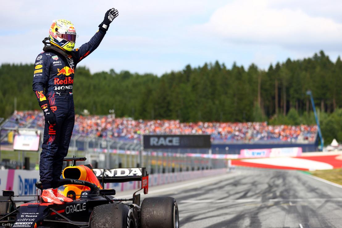 Max Verstappen az Ausztriai Nagydíjon