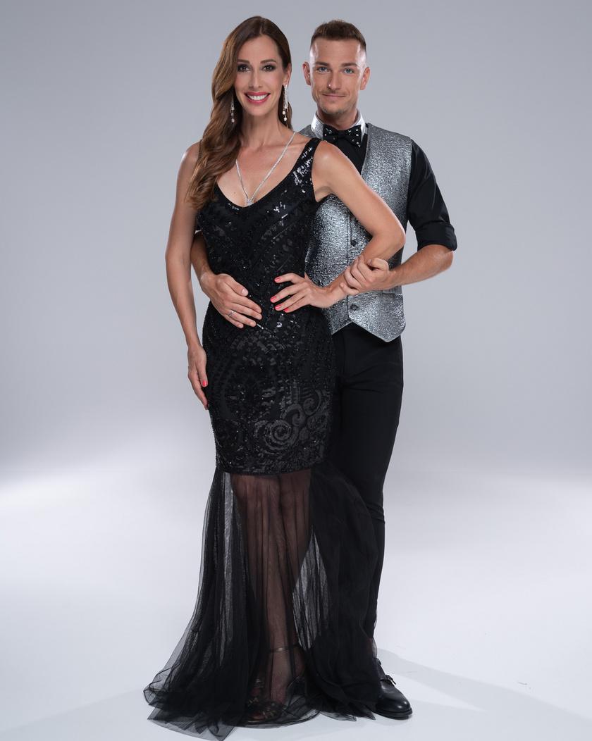 Demcsák Zsuzsa és Suti András, a latin-amerikai táncok országos bajnoka, aki az első évadban Osvárt Andrea párja volt.