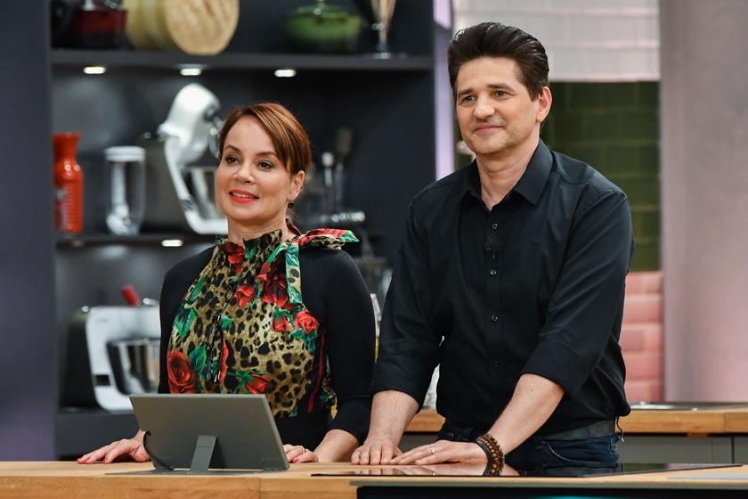 Csisztu Zsuzsa és férje, Norbert a TV2 Love Bistro című műsorában 2020 szeptemberében.