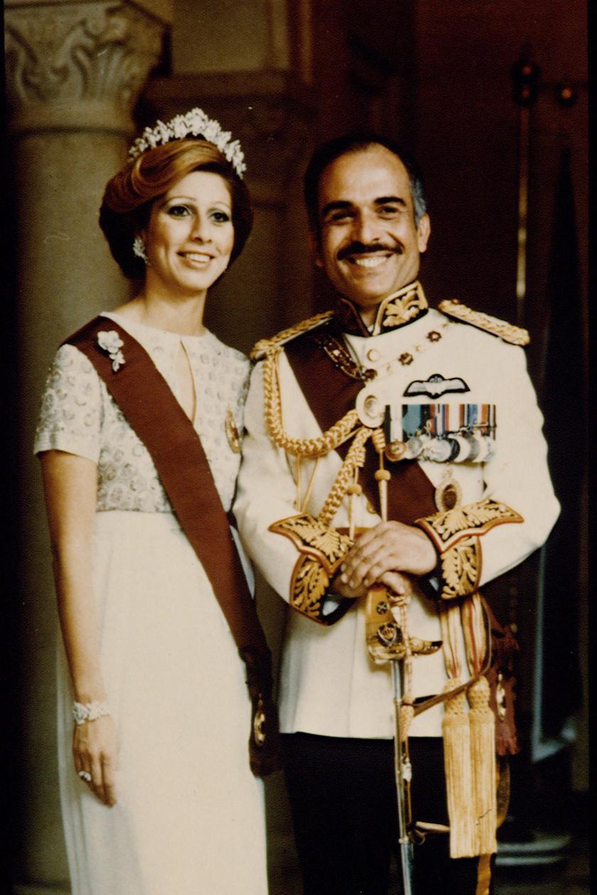 Haya hercegnő szülei láthatóak ezen a képen.