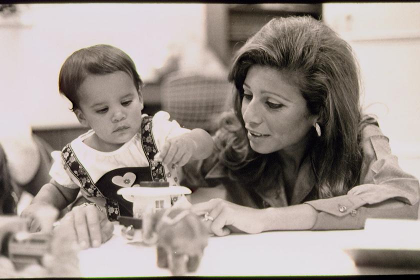 Haya hercegnő és édesanyja.