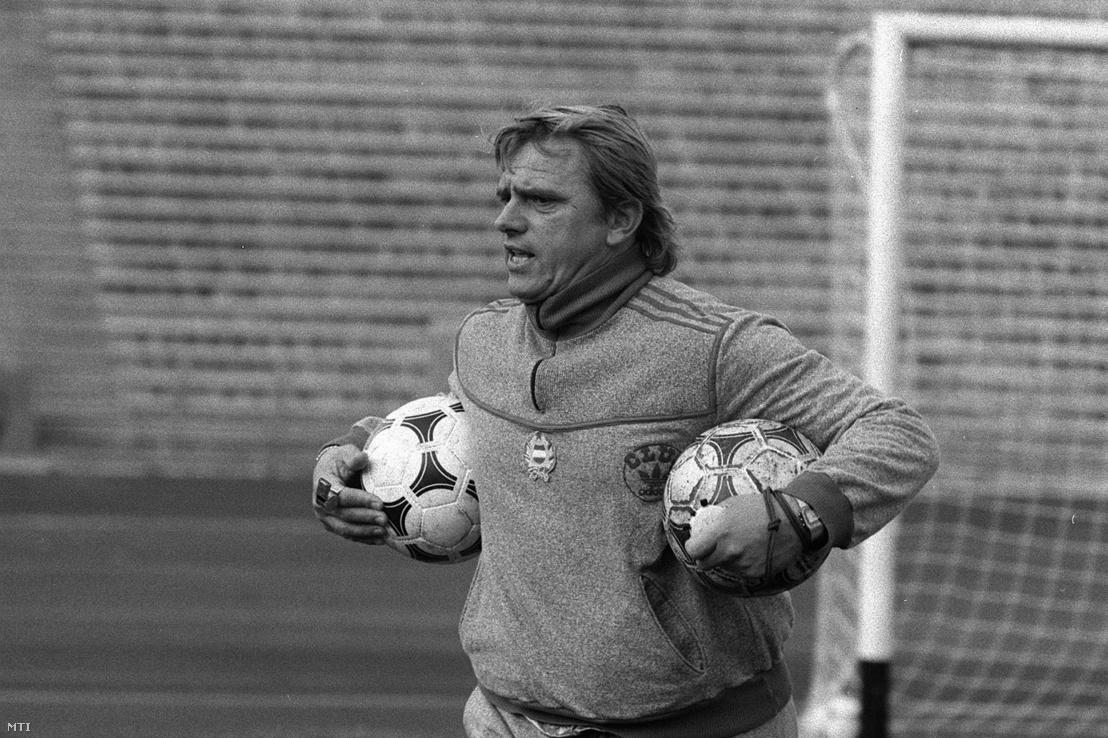 Mészöly Kálmán labdarúgó edző, szövetségi kapitány 1982. március 16-án
