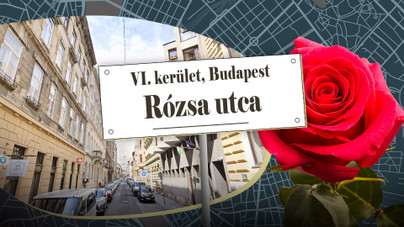 Kocsma és kommunista újságíró nevét is viselte, de mindig Rózsa utca maradt – ma is az