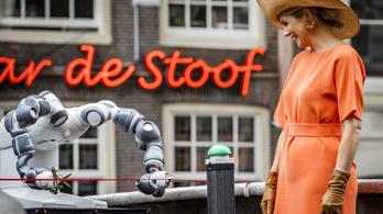 Robot nyitotta meg a világ első 3D nyomtatással készített hídját