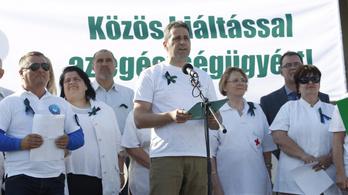 Utcára vonulnak az egészségügyi dolgozók