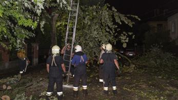 Lakóházakra csapott le a villám Szabolcsban