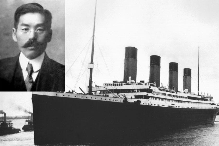 Masabumi Hosono, a Titanic egyetlen japán utasa