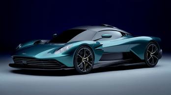 950 lóerős hibrid szupersportautó az Aston Martin Valhalla